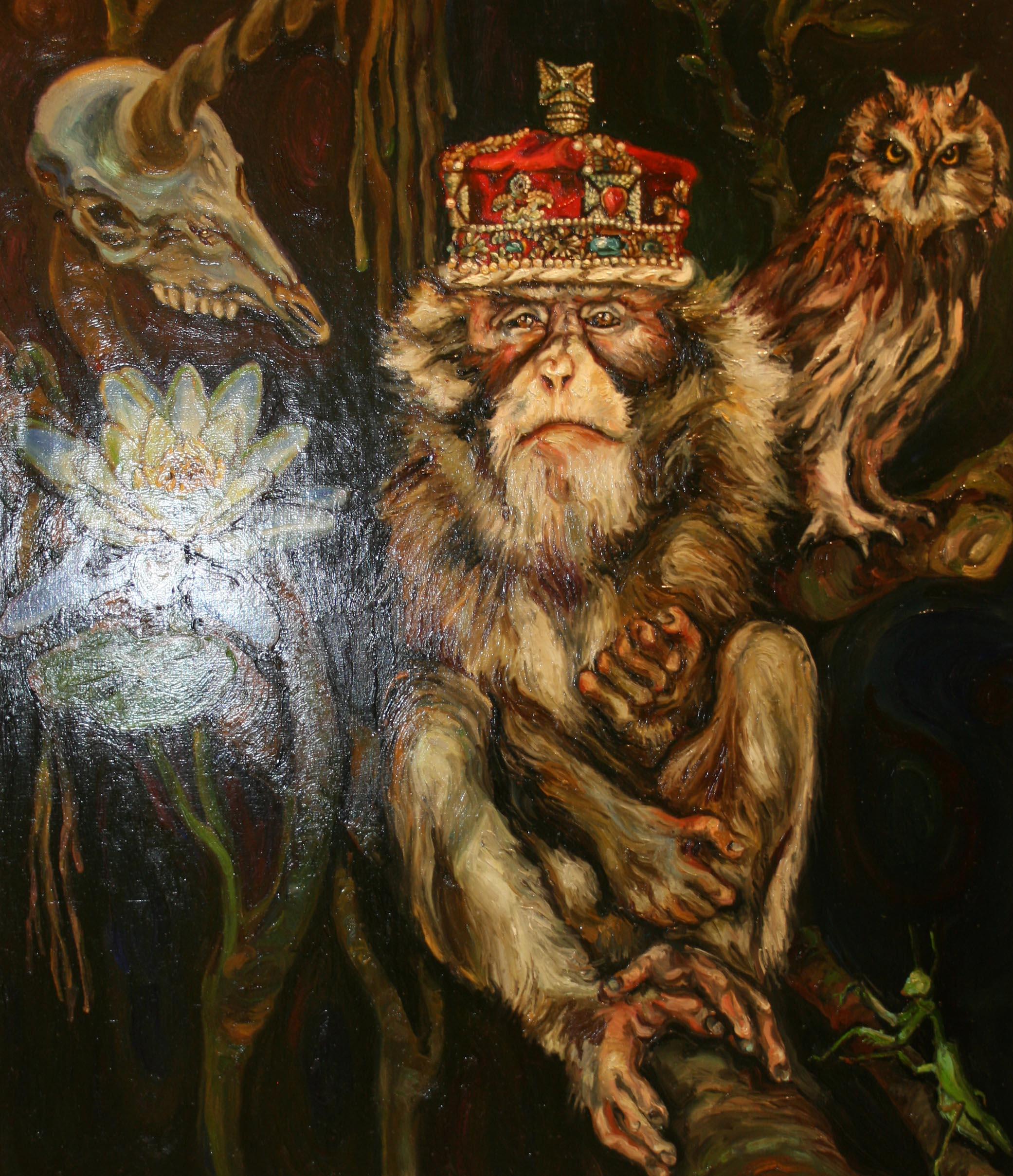 """Неизвестные разгромили выставку художника Чичкана: """"все оригиналы работ уничтожены"""" - Цензор.НЕТ 6752"""