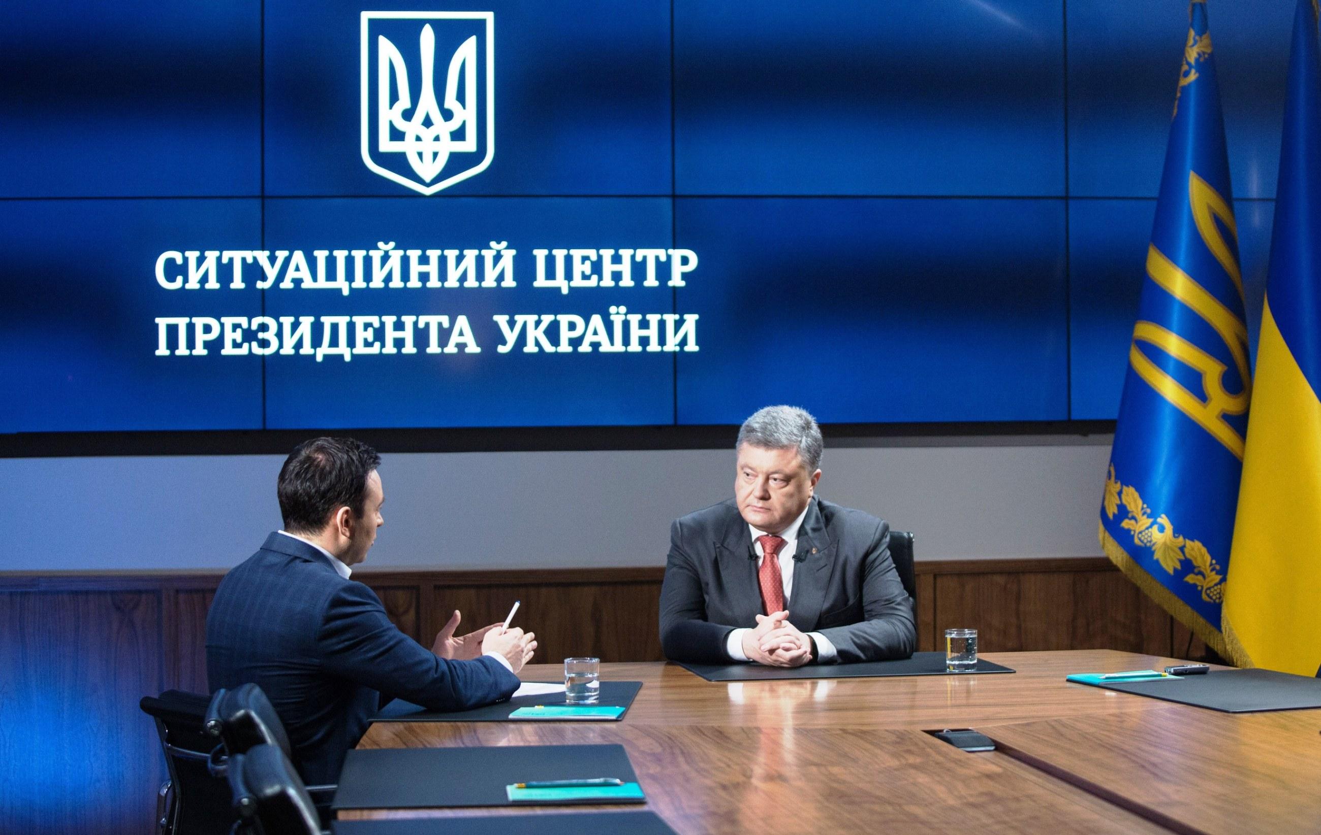 President on liberation of Savchenko: I was not going to trade either Nadiya, or Ukraine