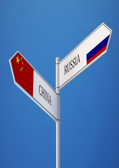 China loves a weaker Russia