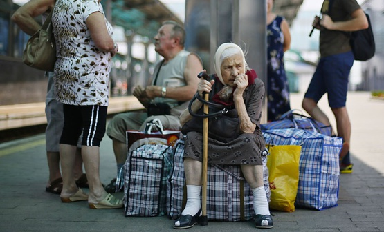 Half of Russians want to send Ukrainian refugees back