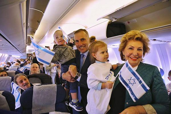 New Israelis Arrive from Ukraine on IFCJ 'Freedom Flight'