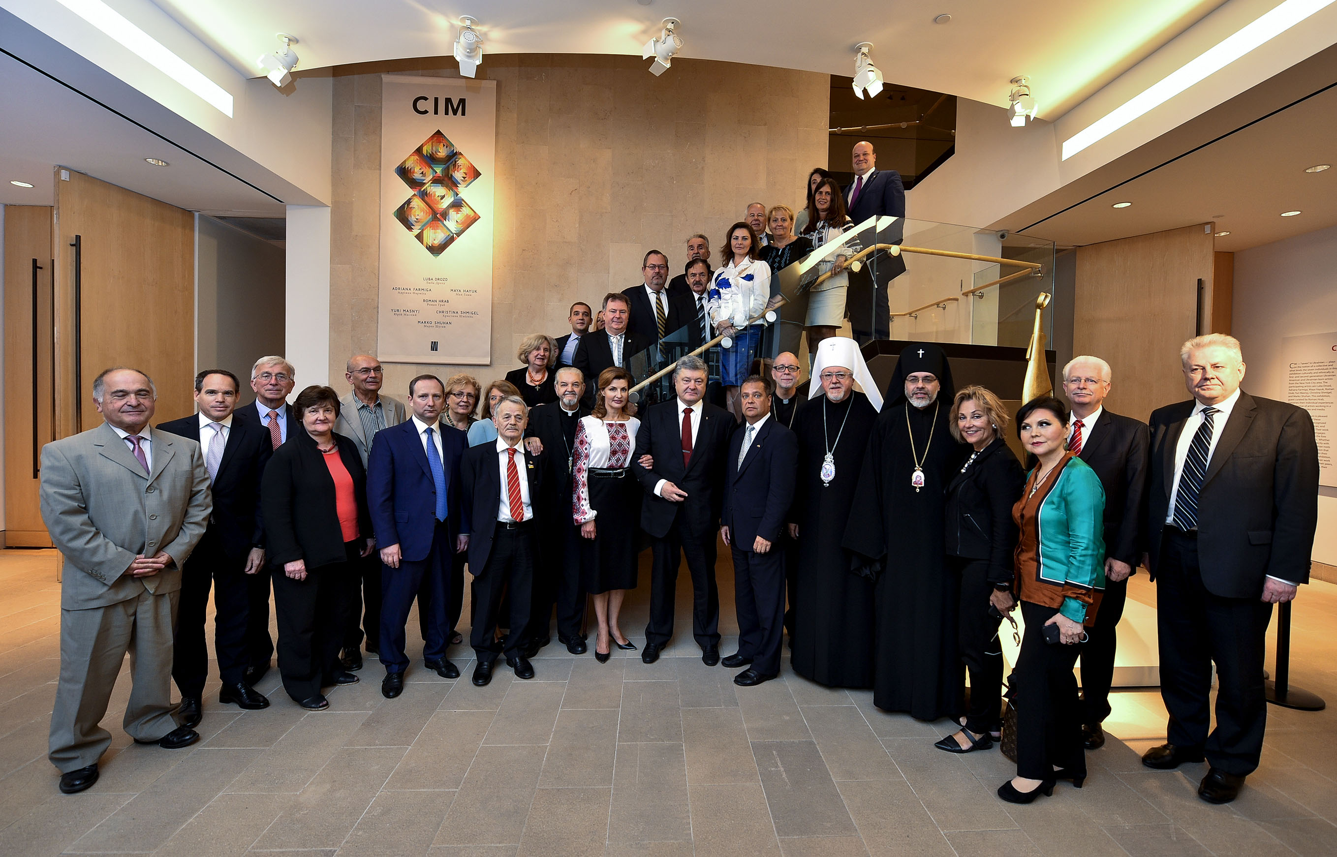Poroshenko meets UOC-USA and Tatar leaders during UN visit to USA