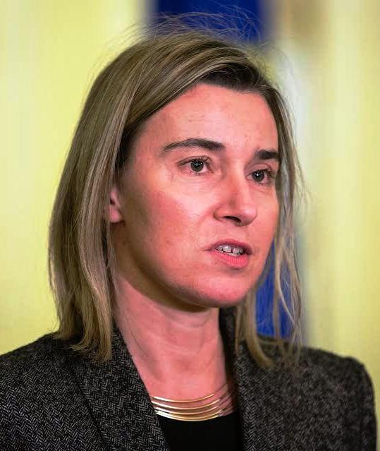 """EU foreign policy chief Mogherini hits separatists for """"terrorising innocent population"""""""
