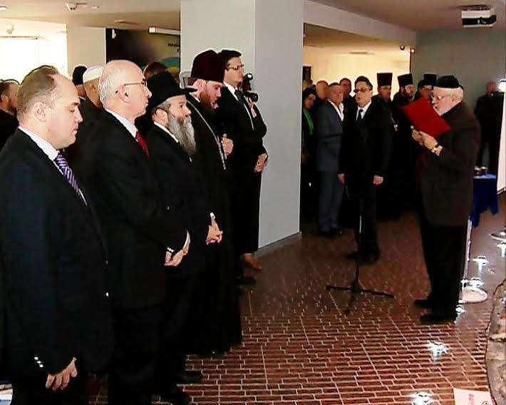 Dnipropetrovsk hosts 70th anniversary Holocaust memorial and exhibition opening