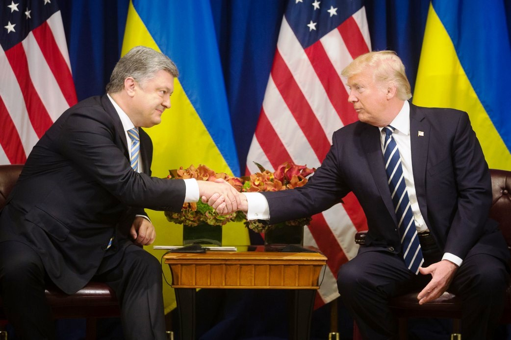 Poroshenko: Ukraine and USA have a common vision of the security cooperation