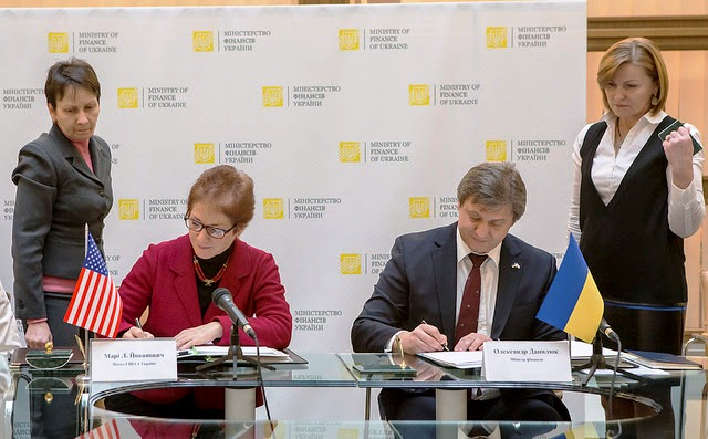 Ukraine and United States sign agreement for exchange of tax information
