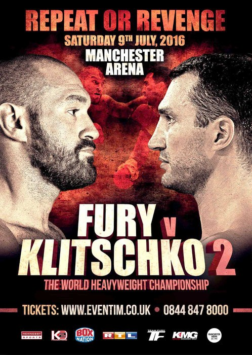 Volodymyr Klitschko says he will knock out Tyson Fury in July rematch