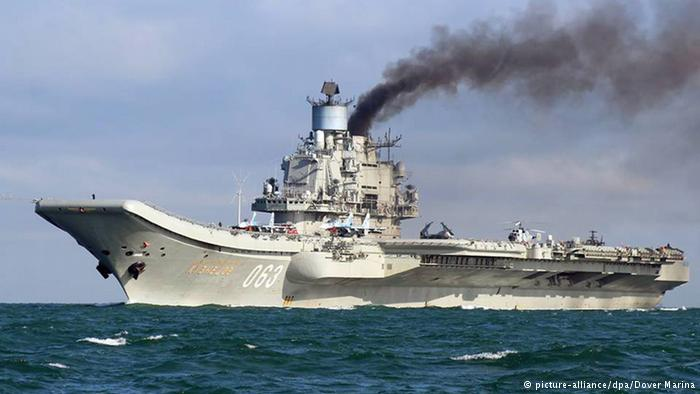 Russia cancels warship fueling request at Spanish port
