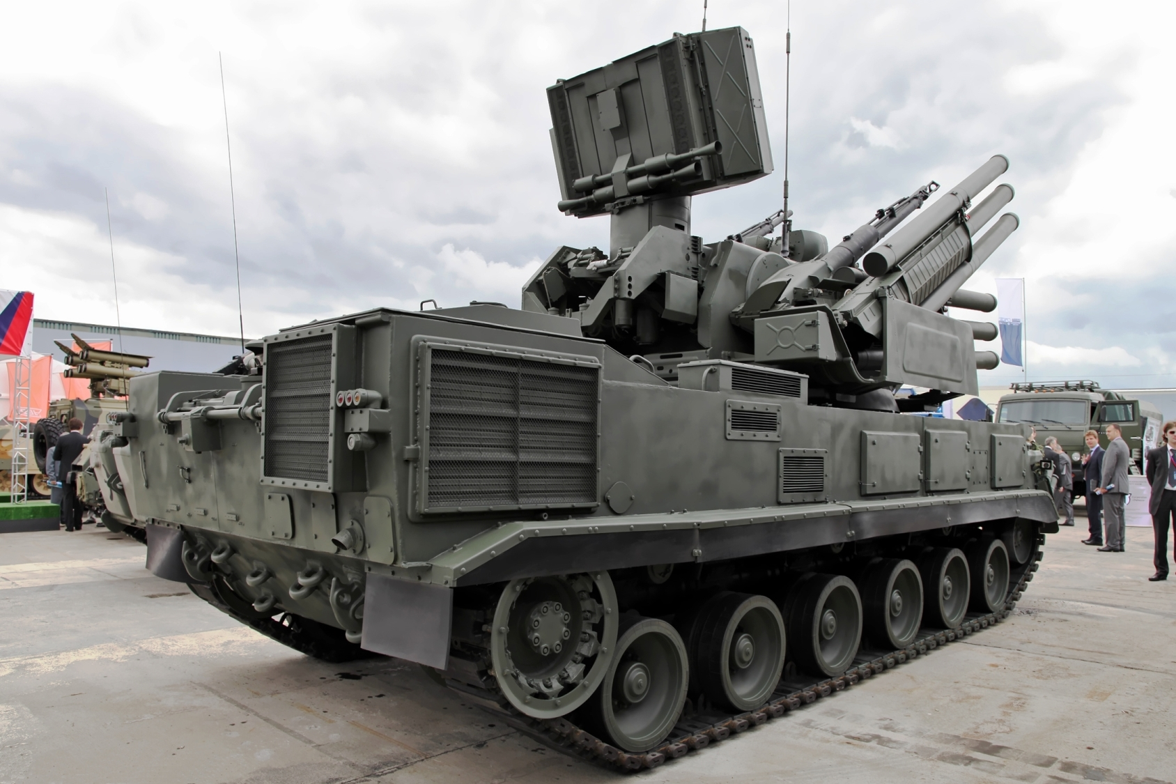 These are the weapons that Russia is pouring into Eastern Ukraine