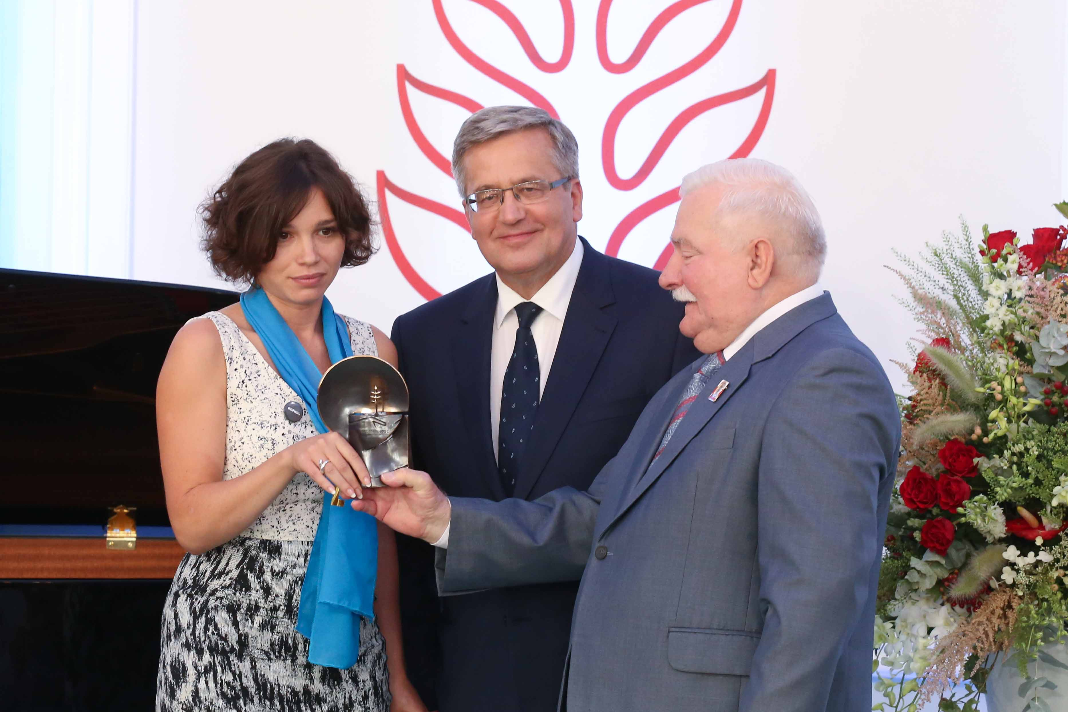 RFE/RL: Boris Nemtsov's Daughter Receives $1.1 Million Rights Prize From Poland