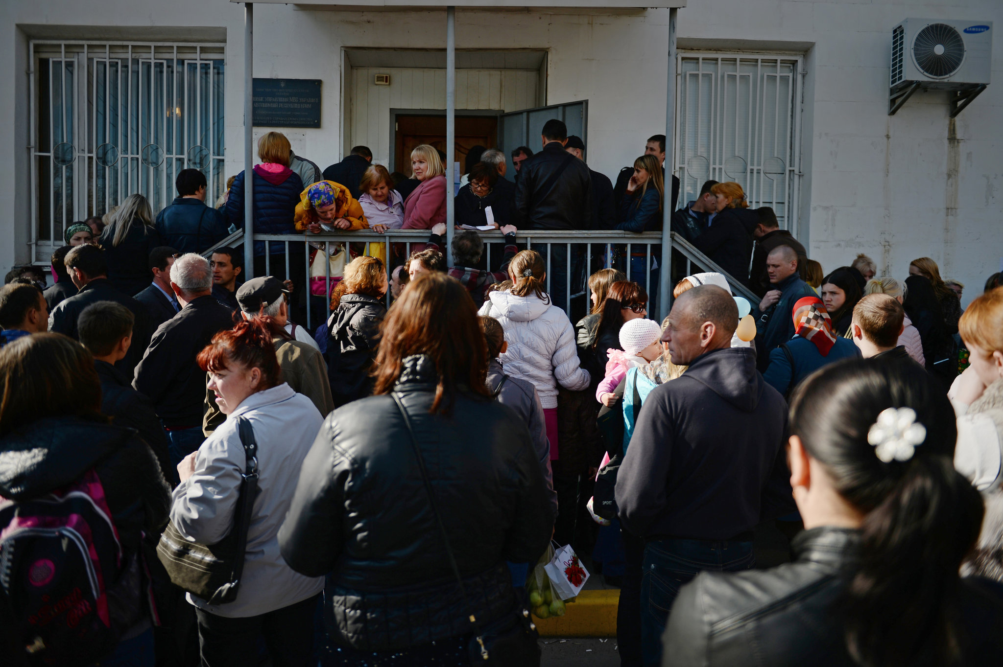 "New York Times: ""Under Russia, Life in Crimea Grows Chaotic"""