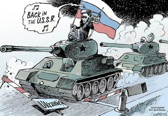 Russia is the only country at fault in the Ukraine conflict