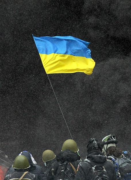 Ash on Maidan – one year later