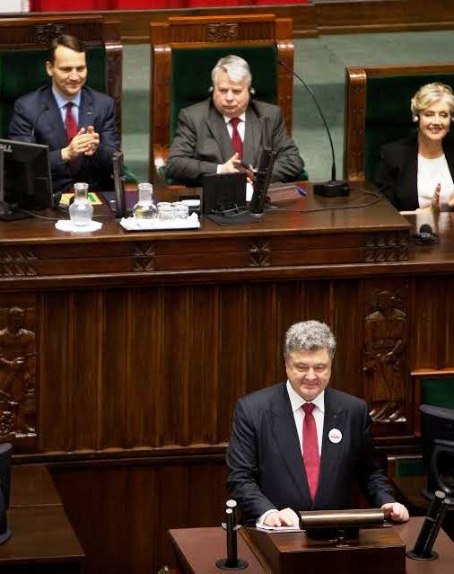 Poroshenko submits law on abolition of the non-aligned status of Ukraine to Parliament