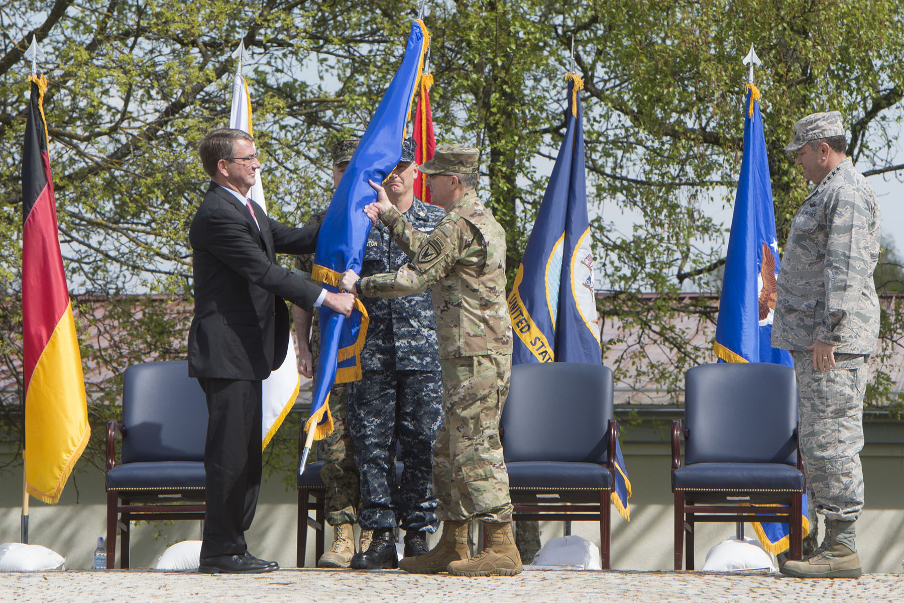 Remarks at EUCOM Change of Command by U.S. Secretary of Defense Ash Carter