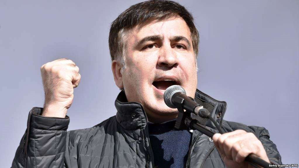 Jailed Mikheil Saakashvili calls for Poroshenko impeachment