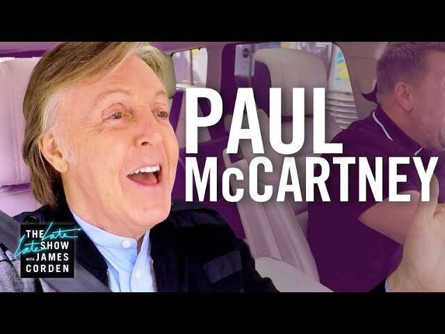 A walk down memory lane with Paul McCartney