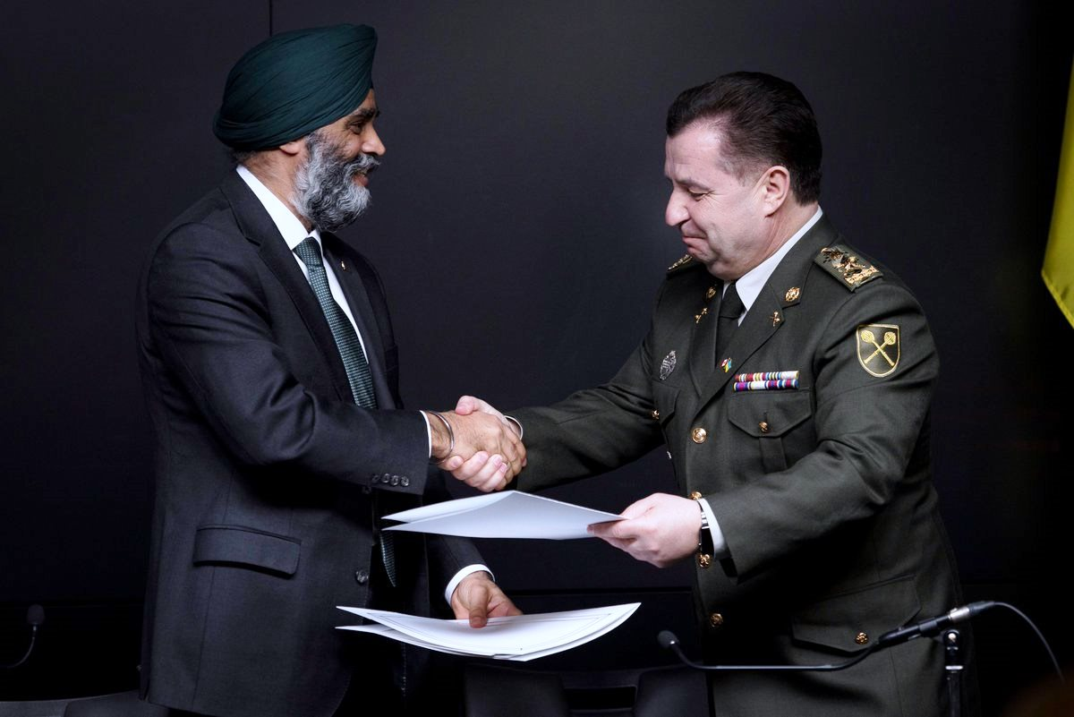 Update on Canadian-Ukrainian defense relations
