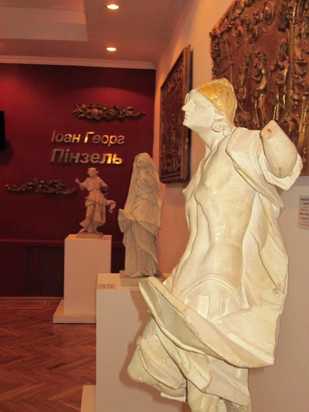 Exhibition of works by Johann George Pinsel opens in Ternopil