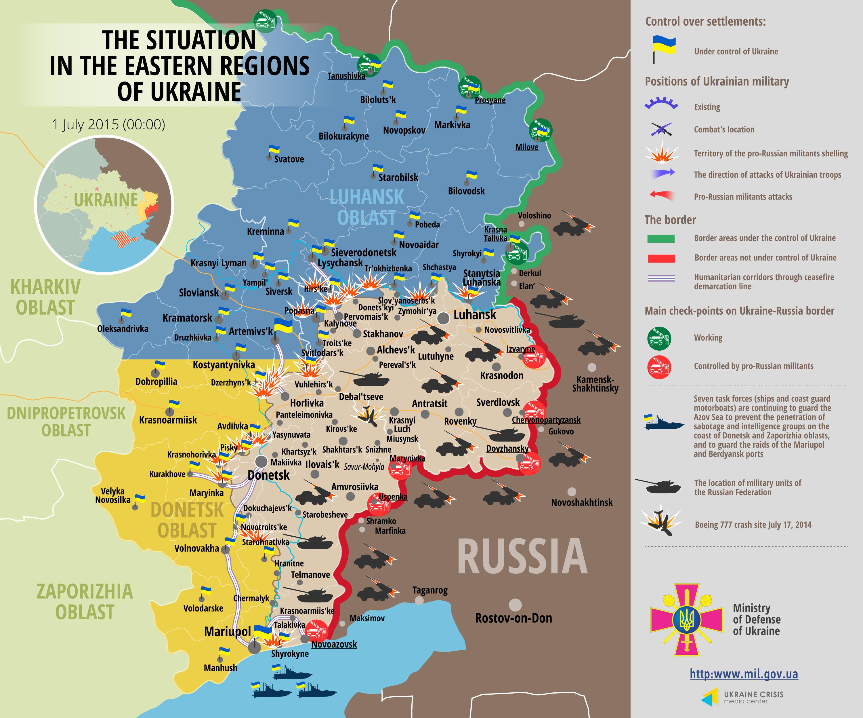 One Soldier Killed, 10 Hurt in Eastern Ukraine