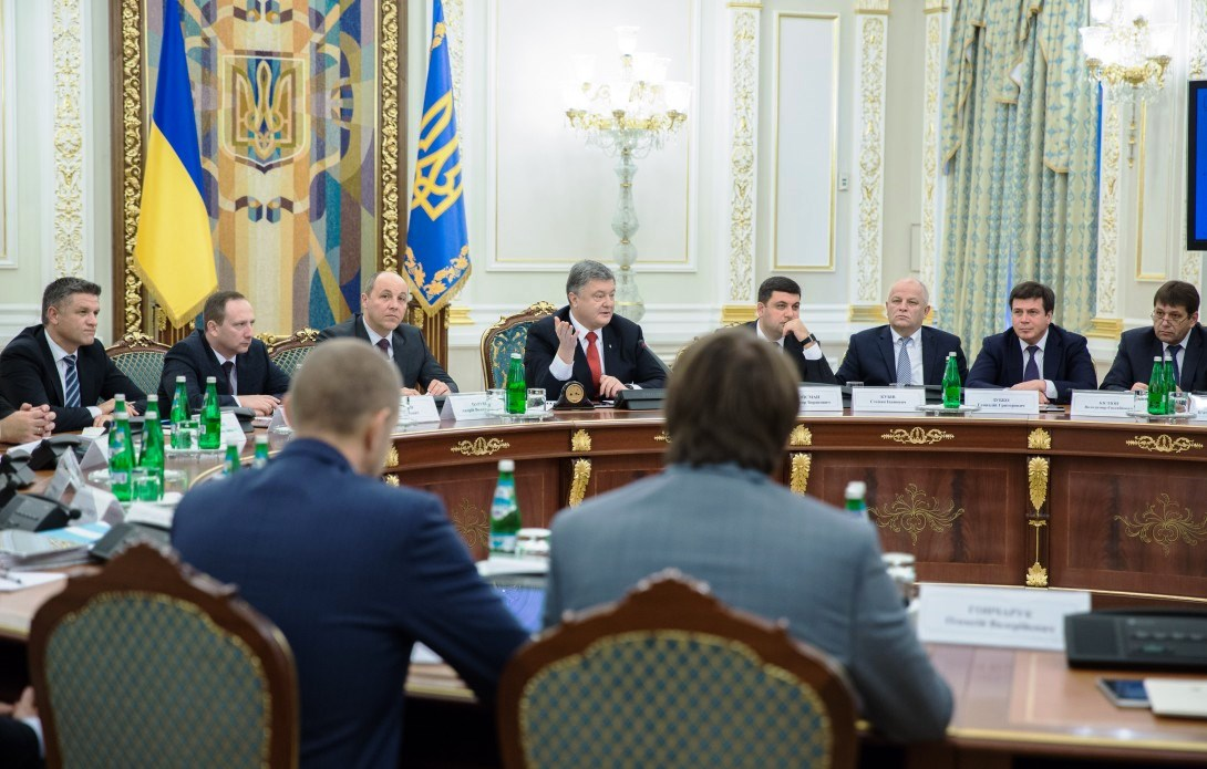 Poroshenko says Ukraine will finally refund VAT in a timely and transparent fashion
