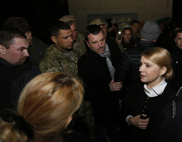 Tymoshenko: the army and police need everyone's help