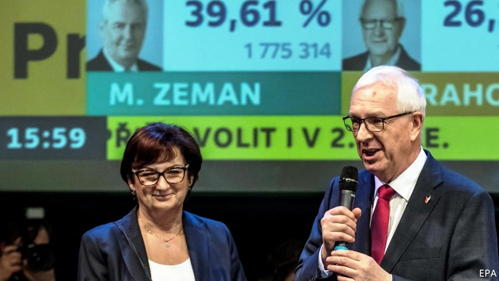 The Czech Republic's pro-Russian president is in trouble
