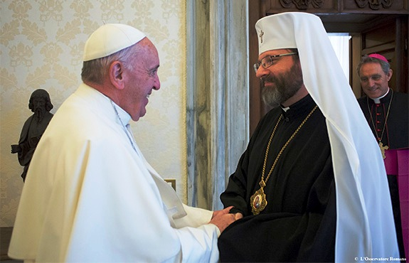 UGCC head Sviatoslav on war in Ukraine, Pope Francis, and the Pan Orthodox council