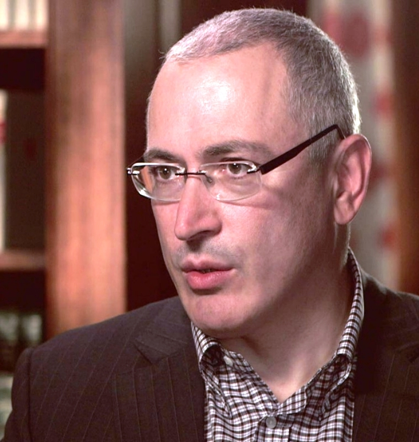 "Mikhail Khodorkovsky says ""the regime in Russia will be destroyed"""