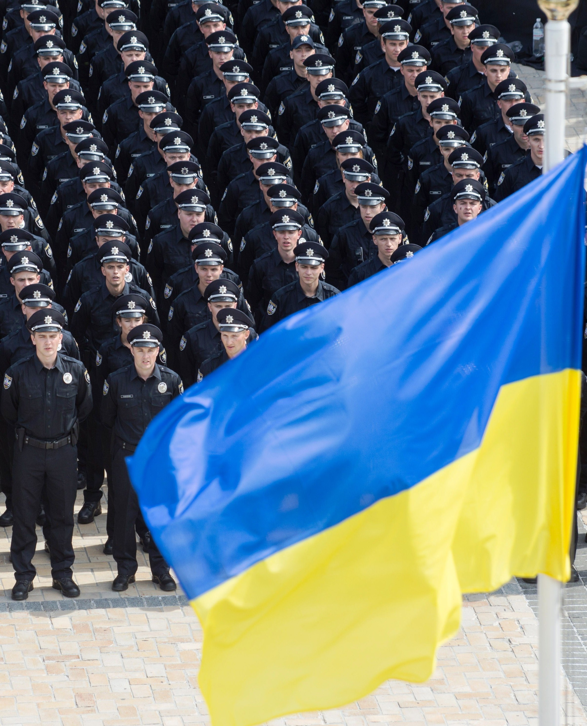 Ukraine launches police patrol on Kyiv streets