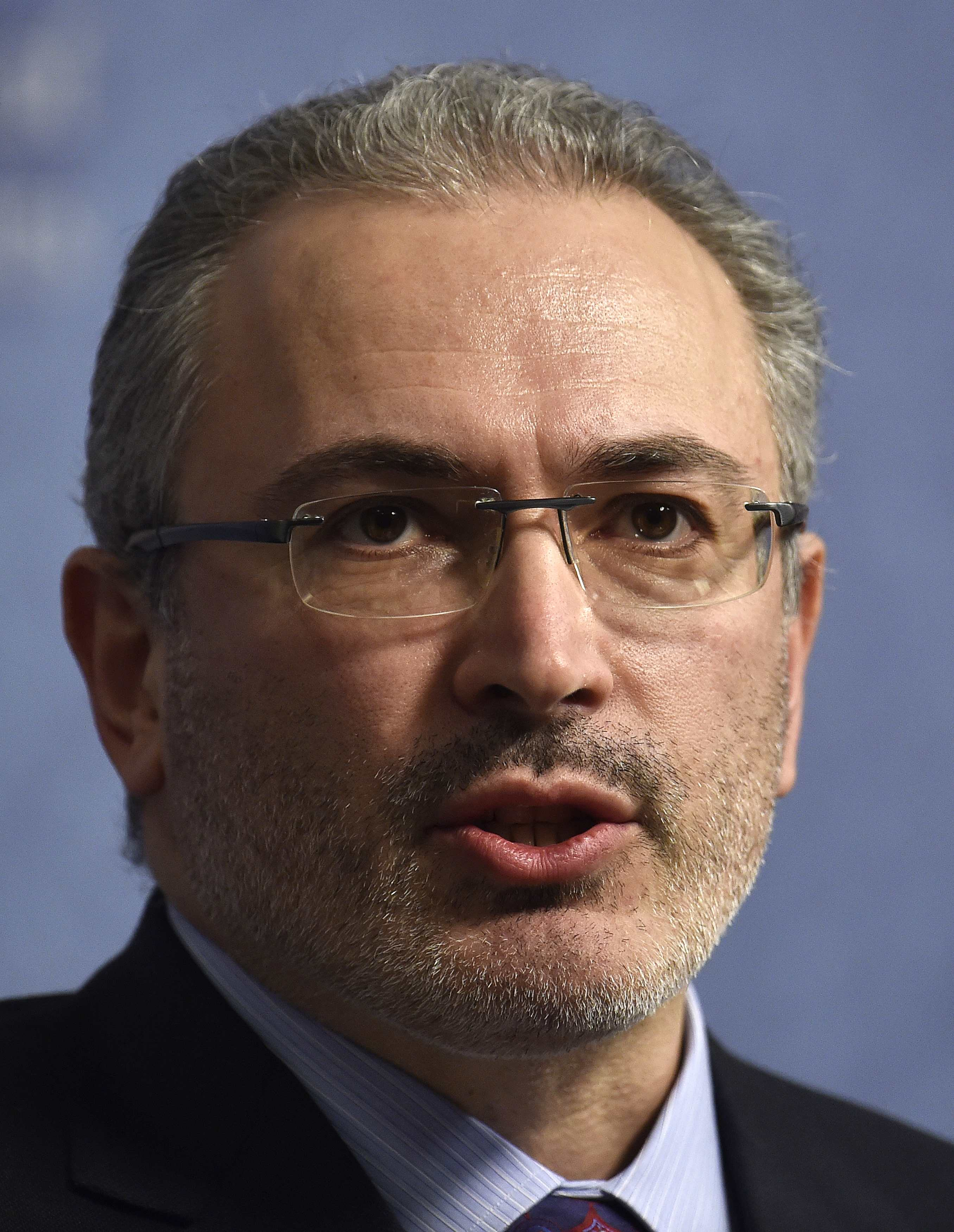 Ukraine war to be Putin's undoing, Khodorkovsky says