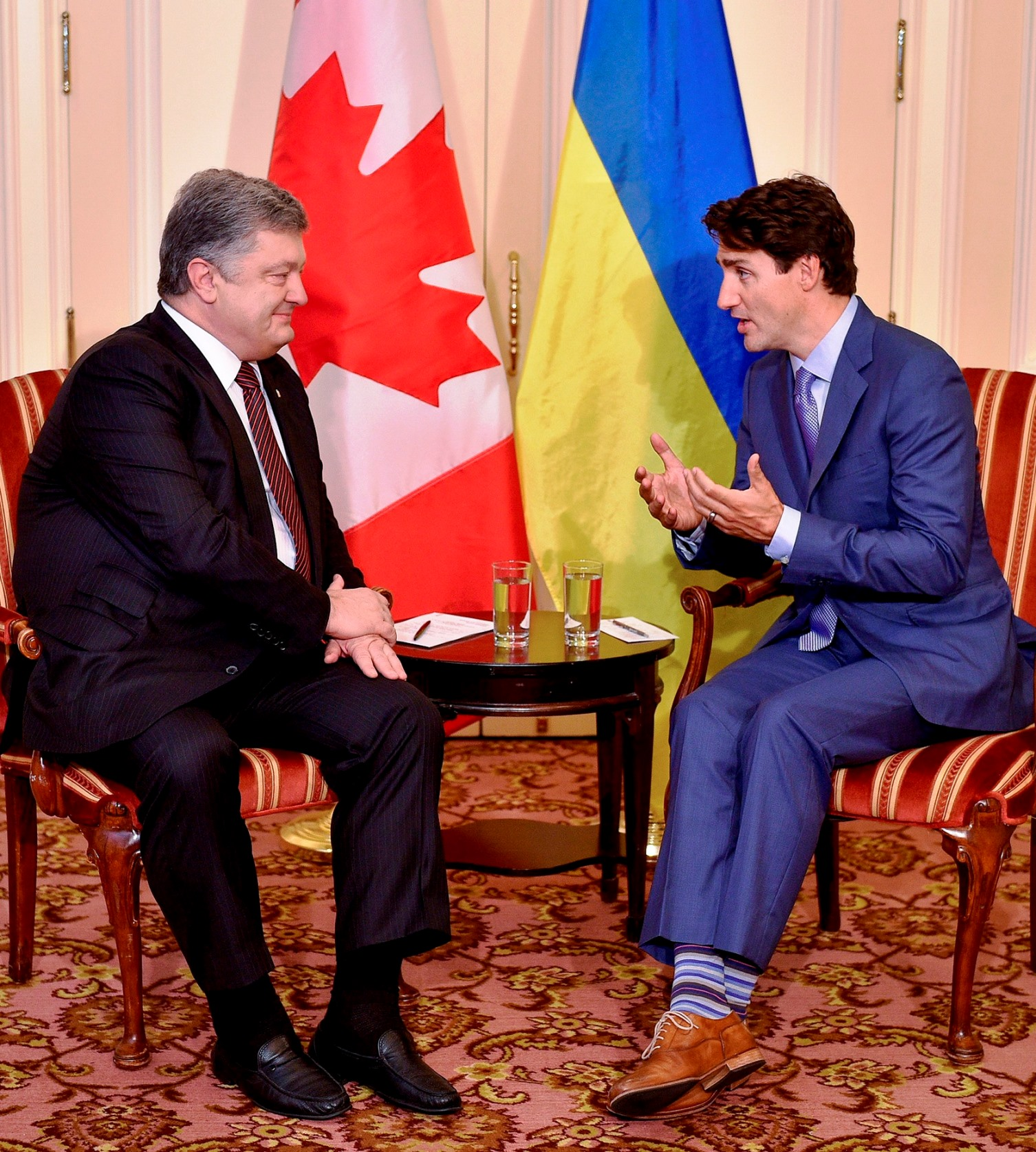 Poroshenko makes Canada swing after intensive UN meetings and speech