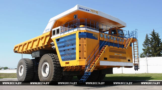 BelAZ exports double in 2017