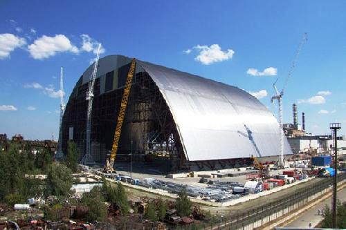 EBRD video: Chornobyl's new safe confinement on track for completion