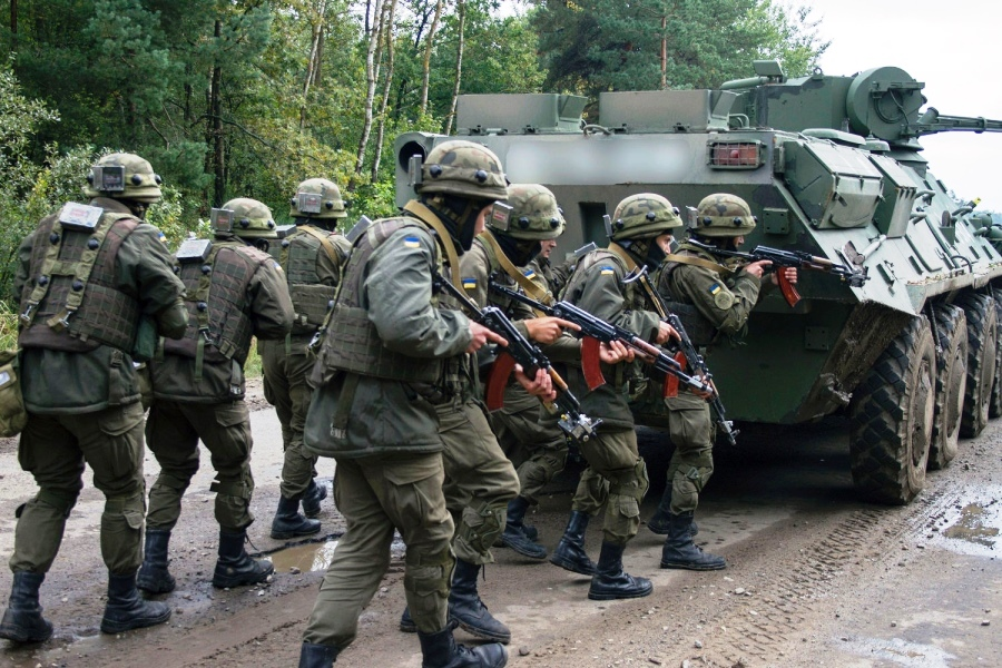 US military wraps exercise with a Ukrainian force facing continued Russian aggression