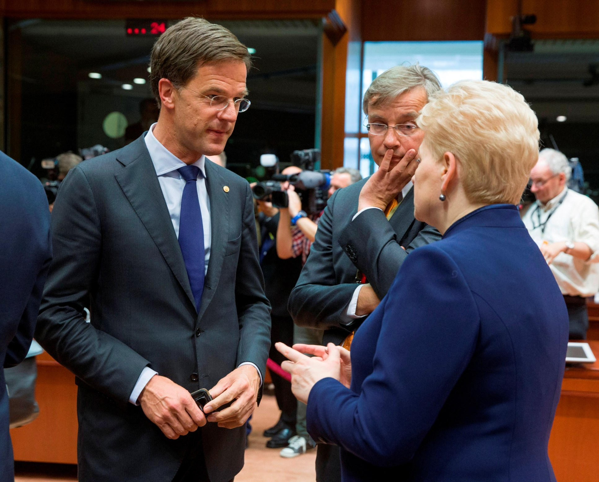 Dutch might not ratify Ukraine treaty, PM says