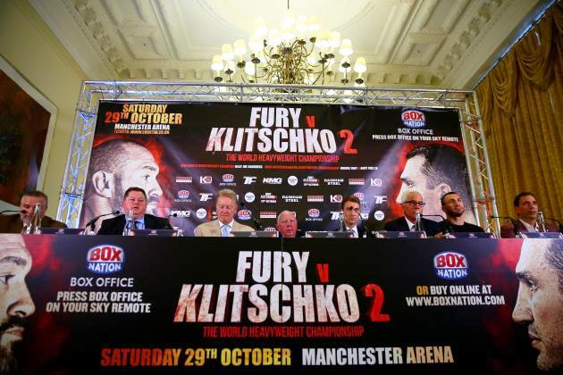 Tyson Fury vs. Volodymyr Klitschko Cancelled: Latest Details, Reaction