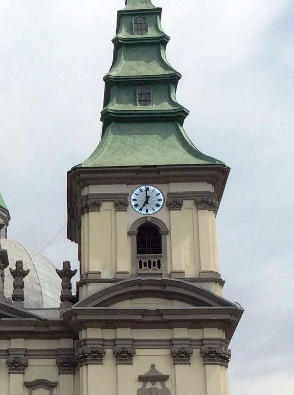 Unique clock to be renovated on Ternopil Archdiocesan Cathedral by Easter