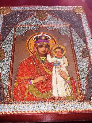 Icons painted by prisoners on exhibition in Ivano-Frankivsk