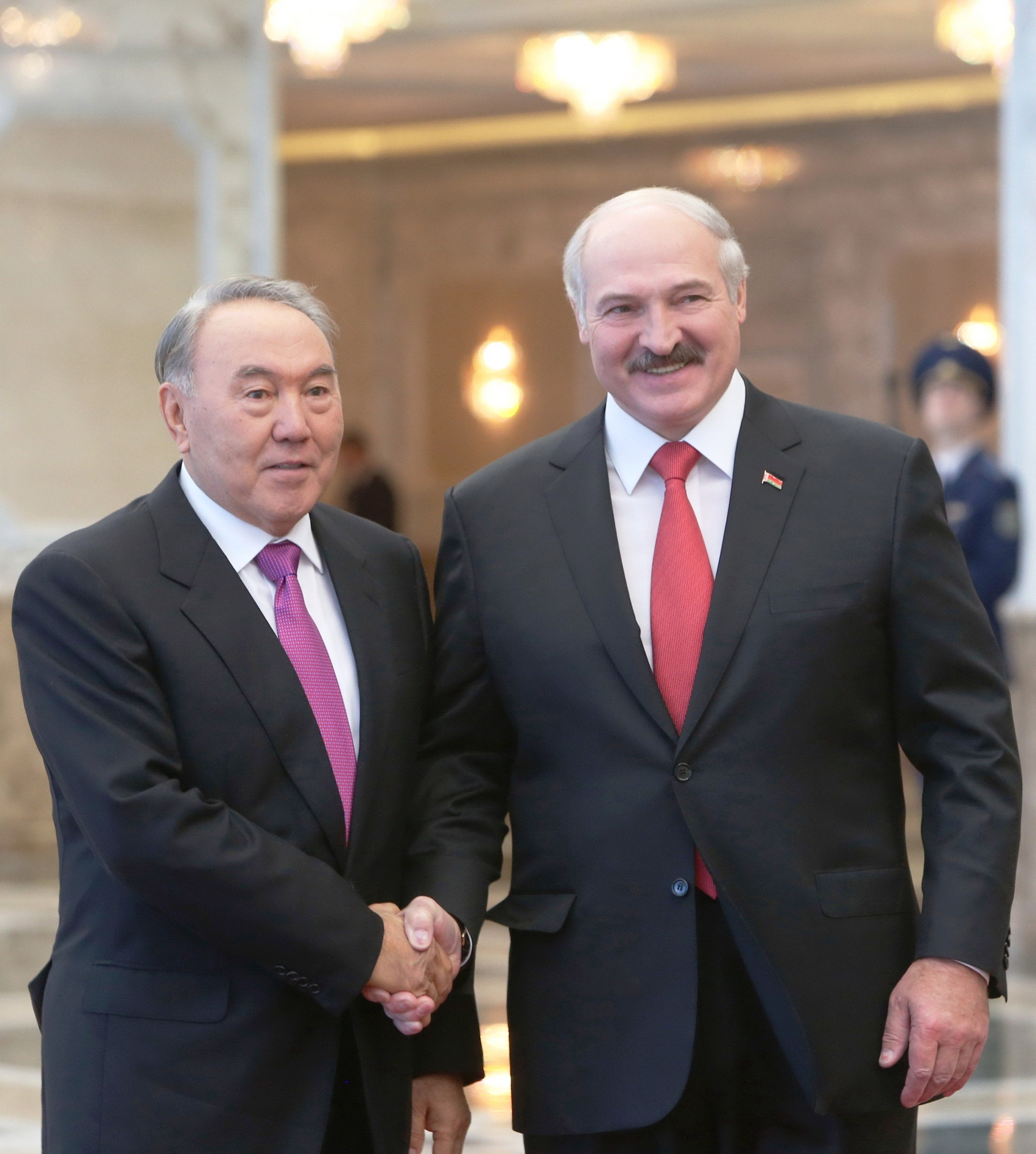 Lukashenko and Nazarbaev Kyiv visits will send message to Moscow