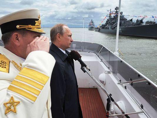 Russia Revises Navy Doctrine