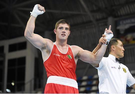 Ward cruises to third European gold with unanimous decision at Kharkiv