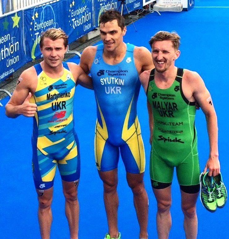 Ukraine clean sweep in men's race at European Aquathlon Championships