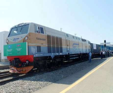 Azerbaijan sees significant growth in railway deliveries from Ukraine