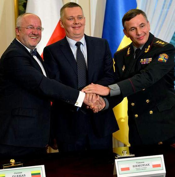 Agreement signed to establish joint Lithuanian-Polish-Ukrainian Brigade