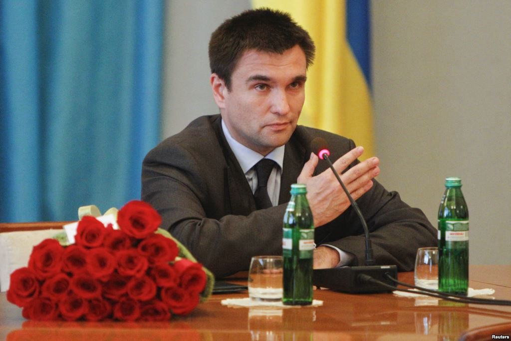 Klimkin: Normalization of Relations with Russia Impossible until Occupation of Crimea Ends