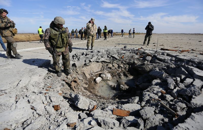 Ukraine quickly becoming world's most mined nation with 1,796 casualties since start of war in 2014