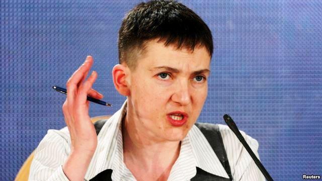 Savchenko Open To Presidential Bid, 'If You Want Me'