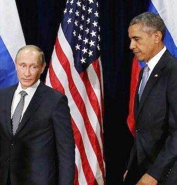 Obama meets with Putin in Paris