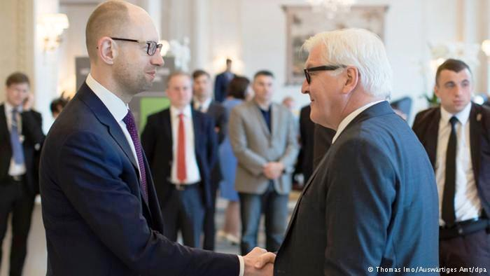 In Kyiv, Steinmeier calls for more from Russia and Ukraine